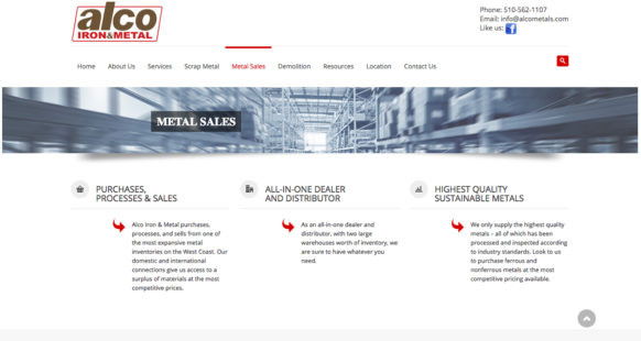 ANTIOCH METAL SALES AND RECYCLING