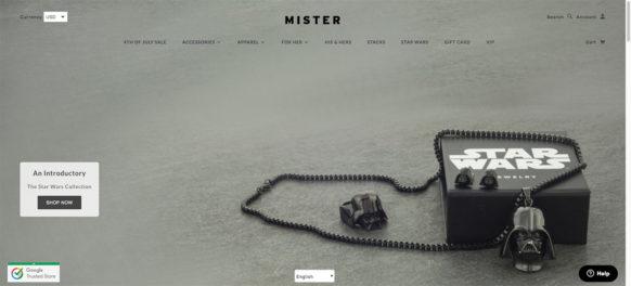 MISTER MINI HEIRO PENDANT – 14KT